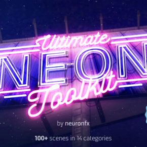 20 Amazing Neon Typography After Effect Templates