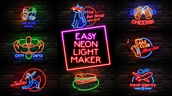 Easy Neon Lights Maker