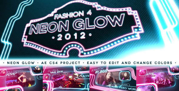 Fashion 4 - Neon Glow