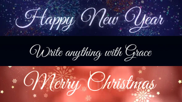 Grace - Animated Handwriting Font