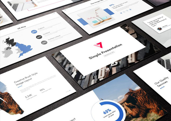 3 in 1 Multipurpose PowerPoint Template Bundle (Vol.01)
