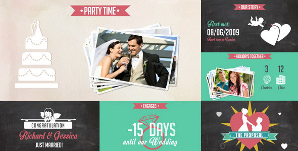 Celebrate the Love - Wedding Timeline