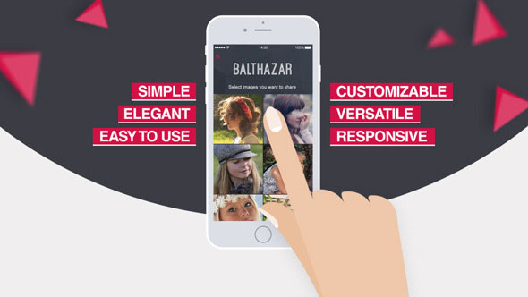 Parallax Mobile App Video Presentation