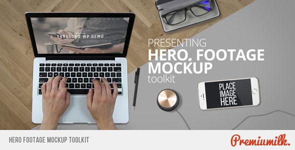 Hero Footage Mockup Toolkit