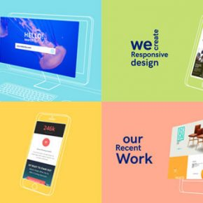 25 After Effects Templates for Web Designers