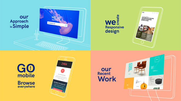 25 After Effects Templates for Web Designers | Pixel Curse
