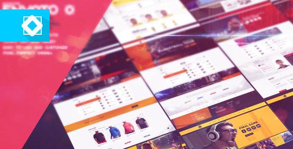 Website Presentation - Sport and eSport