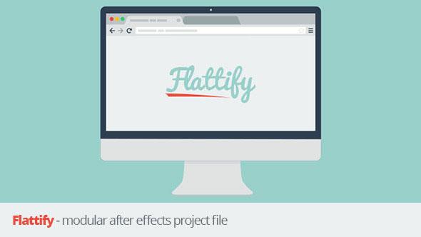 Flattify - Modular After Effects Project