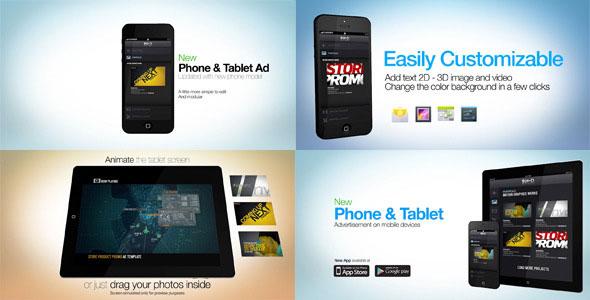 Phone Tablet Advertisement