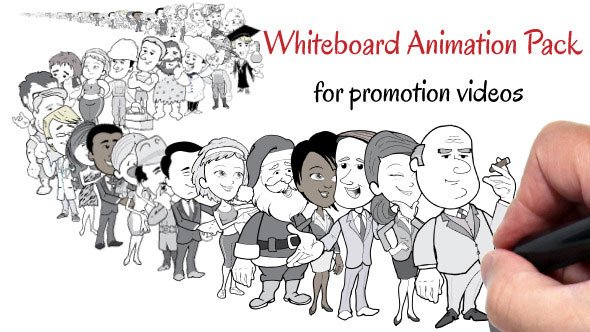 Whiteboard Animation Pack For Promotion Videos