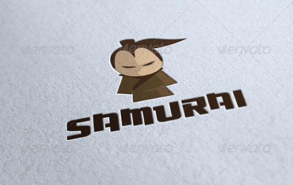 Samurai Logo Template