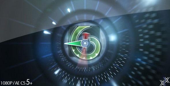 Countdown Logo Reveal