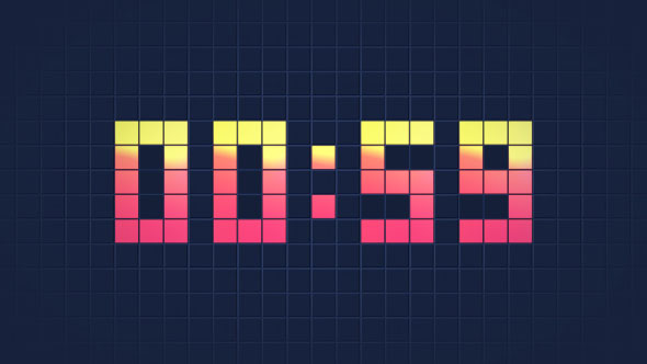 Digital Clock Countdown
