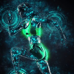 20 Amazing Fantasy & Sci-Fi Photoshop Actions