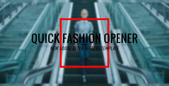 Fashion Promo Opener