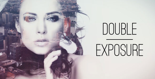 Double Exposure Parallax Titles