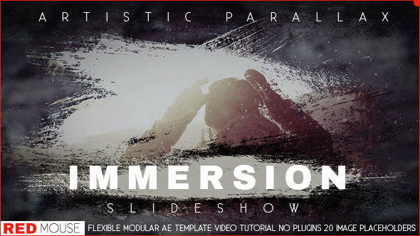 Immersion Artistic Parallax Slideshow