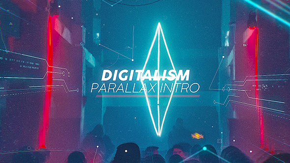 Digitalism Parallax Intro