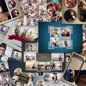 25 Killer PSD Photo Collage Templates