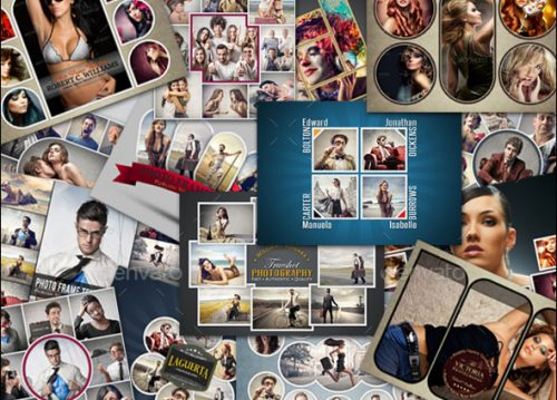 25 killer psd photo collage templates