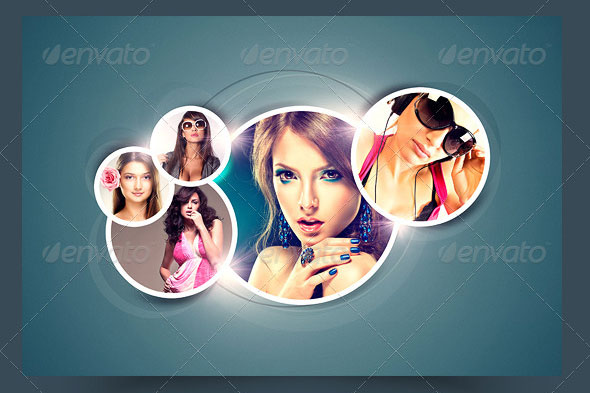 Splendid Photo Frame Template