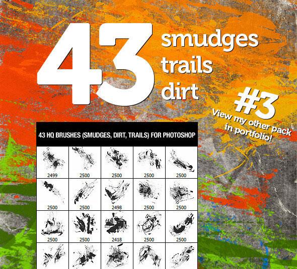 43 Dirt Smudges & Trails 3