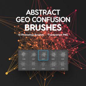 20 Amazing Abstract & Geometric Photoshop Brushes