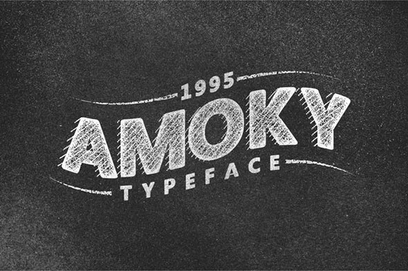 Amoky Typeface