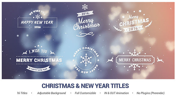 Christmas & New Year Titles