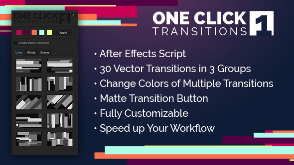 One Click Transitions Vol.1
