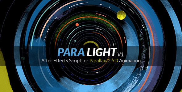 ParaLight | After Effects Script for Parallax/2.5D Animation