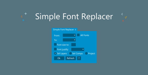 Simple Font Replacer