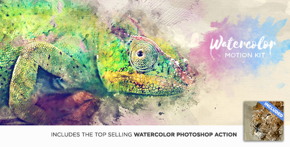 Watercolor Motion Kit