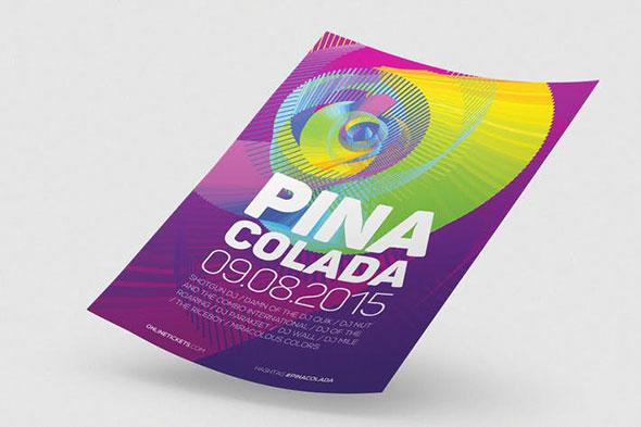 Pina Colada Flyer / Poster