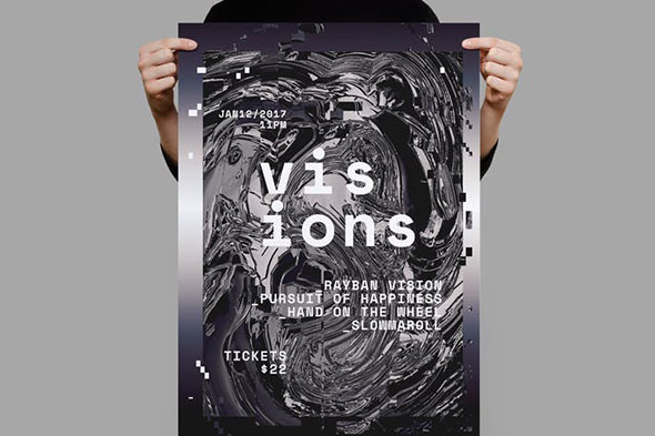 Visions Poster / Flyer