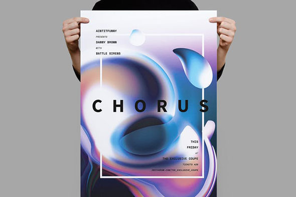 Chorus Poster / Flyer