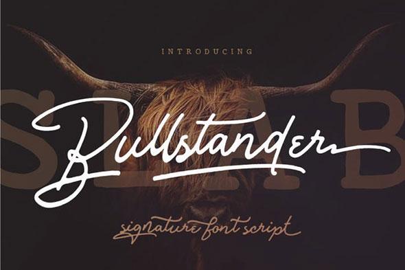 Bullstander 6 Font Set