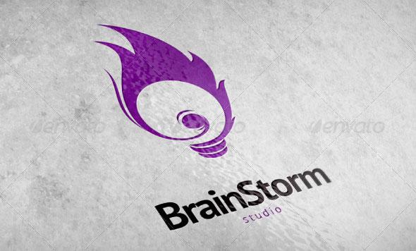 Brain Storm Logo