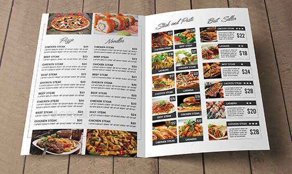 Simple Restaurant Menu Pack