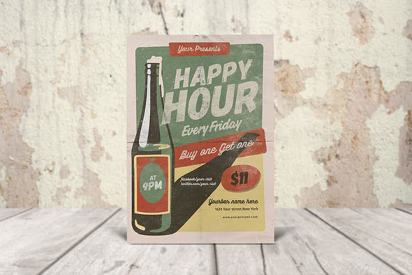 VIntage Happy Hour