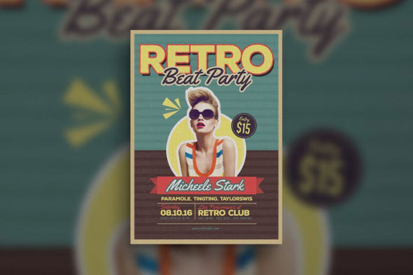 Retro Beat Flyer