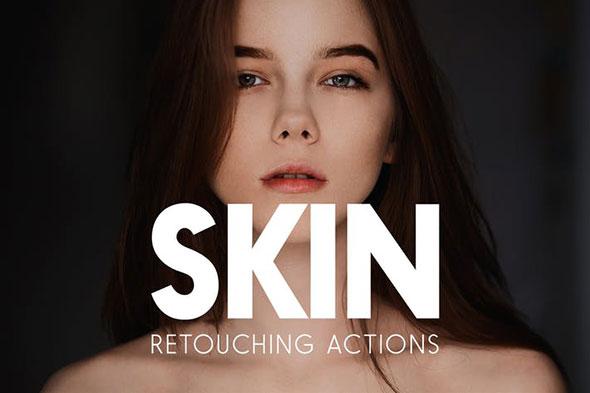 Skin Retouching Actions
