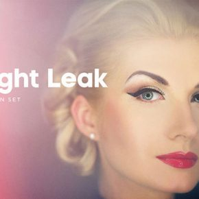 20 Cool Light Leak Effect Photoshop Actions