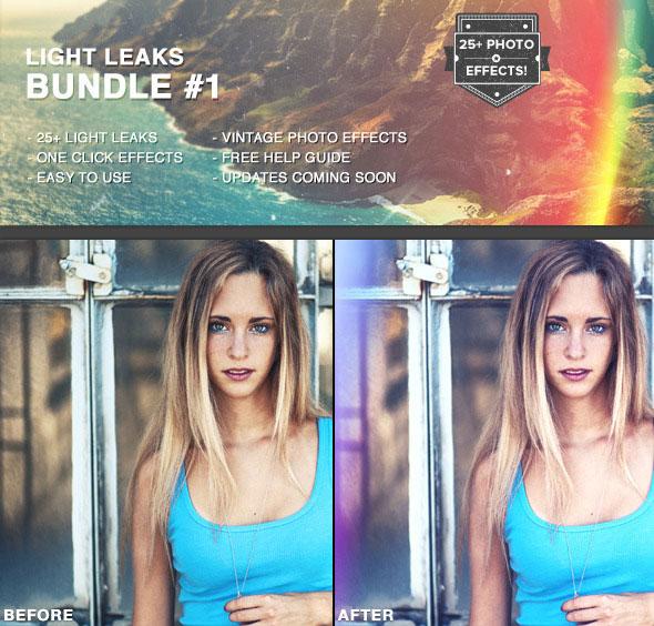 Light Leaks Bundle #1