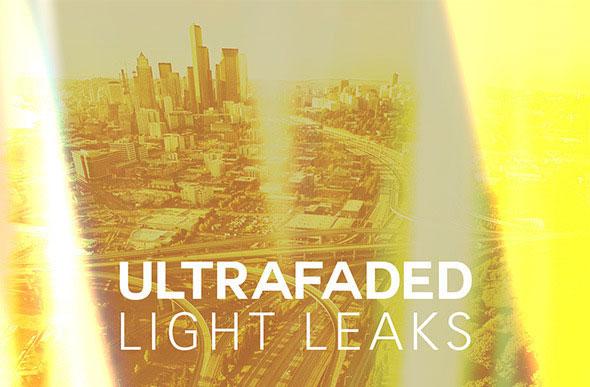 Ultra Faded Light Leaks
