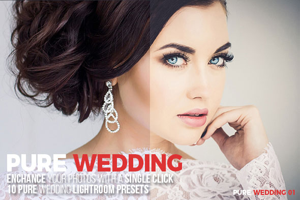 10 Pure Wedding Lightroom Presets