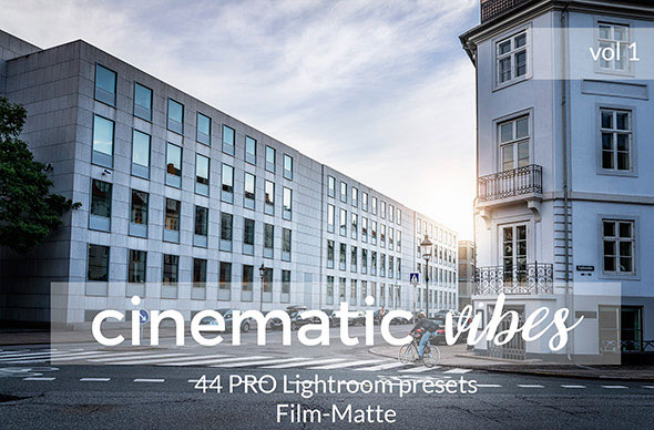 Cinematic Vibes Lightroom Presets. Vol 1