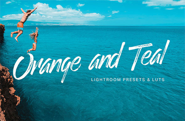 Orange Teal Lightroom Presets and LUTs