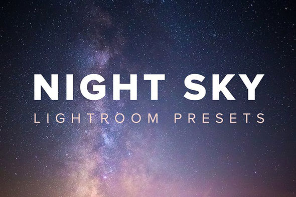 Night Sky Lightroom Presets