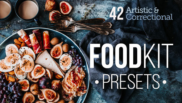FoodKit - 42 Food Presets for Lightroom & ACR